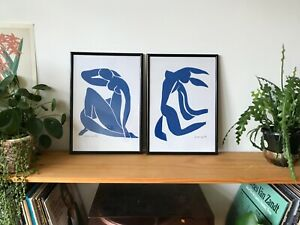 2x Henri Matisse 'The Cut Outs' 1952 Framed Prints (A3)