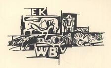 Ex Libris Ru van Rossum : WB v EK