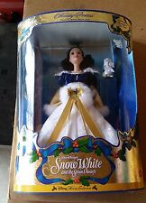 1998 Barbie Doll Snow White Holiday Princess