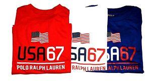 Boys Genuine Ralph Lauren 67 Flag Long Sleeve Soft Cotton Tops - CLEARANCE