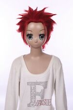 W-548 K Project Suoh Mikoto rojo red 32cm cosplay peluca Wig perruque anime