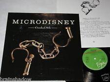 MICRODISNEY crooked mile LP Virgin Rec. 1987 INDIE ROCK