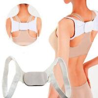 Posture Corrector Back Shoulder Support Elastic Brace Belt Band For Women Men