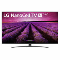"LG 55SM8100AUA 55"" Nano Cell 4K Ultra HD LED Smart TV w/ ThinQ AI (2019 Model)"