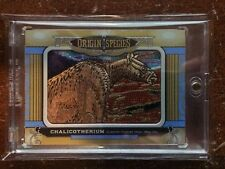 2016 Upper Deck Goodwin Champions OS 226 Origin Of Species Chalicotherium 1:108