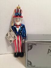 Kurt Adler Polanaise Uncle Sam Mint With Tag And Box