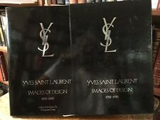 IMAGES OF DESIGN 1ST IN DJ AND SLIPCASE BY YVES SAINT LAURENT