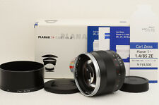 Carl Zeiss Planar 85mm f1.4 T* ZE Lens for Canon [Near N] from Japan (88-B82)