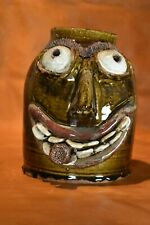 "Face Jug  One of a Kind  ""OOAK""  Handmade"