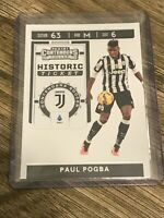 Paul Pogba 2019-20 Chronicles Contenders Historic Ticket Juventus Card #HT-PP