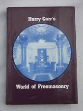 World of Freemasonry by Harry Carr - 1985  Revised Edition  - Signed by Author