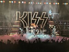 KISS 1977 Vintage Poster Top Section Only from the Love Gun Era Jumbo Aucoin