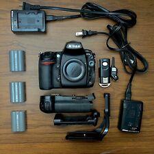 Nikon D700 w/ Battery Grip, RRS L-Bracket, Extras