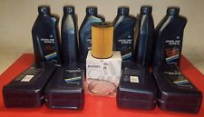 BMW F01 F10 F12 OIL FILTER KIT+MOTOR OIL SET 08-17 550i,650i,750i,X5,X6 GENUINE
