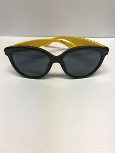 DIOR ENVOL3/S LVGBN Black Pink Yellow Sunglasses Made in Italy Authentic
