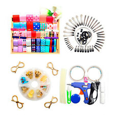 DIY Hair bow, Hair Clips Kit accessories Crafts Perfect for beginners.