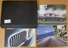 BMW 3 SERIES E46 SALOON HANDBOOK OWNERS MANUAL WALLET 2001-2005 PACK E-572