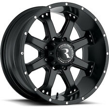 20 inch Black Raceline Assault 991 Wheels Rims Dodge Ram 1500 Dakota 20x9 5x5.5