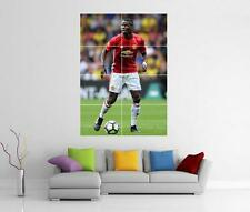 PAUL POGBA MANCHESTER UNITED MAN UTD FC GIANT WALL ART PHOTO PRINT POSTER