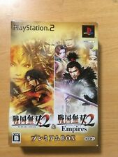 sony PS2 Sengoku Musou 2 & Sengoku Musou 2 Empires (Premium Box) JAPAN