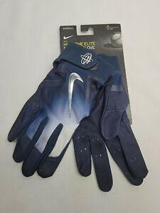 Nike Huarache Elite Baseball Batting Gloves Unisex Size XL #PGB543-426 (Navy)