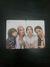 Blackpink YES! Magazine Official Photocard set with Lyrics(Unofficial) Lisa Rosé