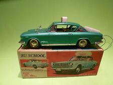 ICHIKO VINTAGE RC CAR - FIAT - RIJSCHOOL - 1:18? - RARE SELTEN - GOOD IN BOX -