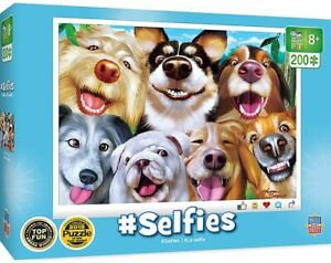 Masterpieces - Selfies - Goofy Grins Jigsaw Puzzle (200 Pieces)