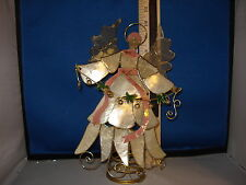 Tree Topper Angel Holding Garland, Mother of Pearl Style 2500  517