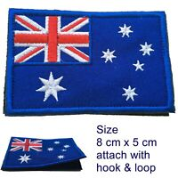 Australia flag patch Aussie Australian flags Oz Downunder loop and hook patches