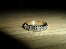 "18,CT/750"" YELLOW GOLD LADIES 0.50,CT DIAMOND RING, 3.20,GMS, SIZE P = 7,3/4,USA"