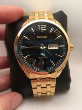 Seiko Men's SNKN48 RECRAFT Analog Display Japanese Automatic Gold Watch-H45