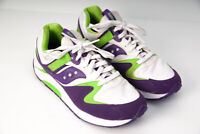Saucony Womens Originals Classic Grid 9000 Green/Purple US 10 Shoes Sneakers