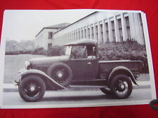 1930 1931 FORD ROADSTER PICKUP 11 X 17  PHOTO   PICTURE