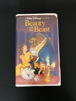 Beauty and the Beast (VHS, 1992) Vintage Rare - Original Advertisement And Paper