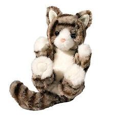 "Gray Striped Tabby Cat Lil' Handful 6"""
