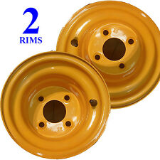 "8"" 4/4 RIMs WHEELs for Husqvarna Riding Lawn Mower Garden Tractor Marigold P25"
