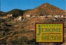 Vintage Jerome Arizona Postcard