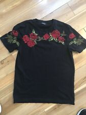 Mens Zara Black T Shirt . Sz S