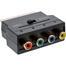 Scart Adapter Scart male to 4x RCA female RGB + Composite