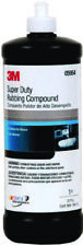 3M Boat Marine Super Duty Rubbing Compound Quart Clings to Paint Surfaces