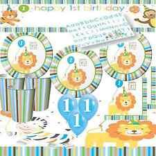 Tutto blu compleanno bambino per la tavola per feste e party