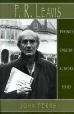 English Authors Series: F. R. Leavis by Ferns, John