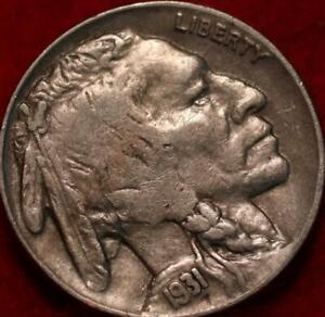 1931-S San Francisco Mint Buffalo Nickel