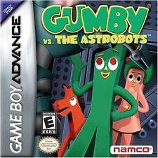 Gumby vs. Astrobots GBA New Game_Boy_Advance