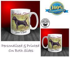 Patterdale Terrier Personalised Ceramic Mug: Perfect Gift. (D036)
