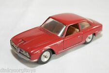 SOLIDO 100 SERIE 125 ALFA ROMEO 2600 BERTONE RED NEAR MINT CONDITION