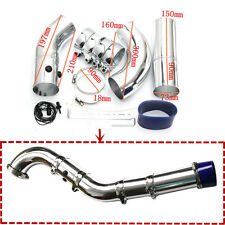 3 Inch 3'' 75mm-76mm Aluminium Air Filter Turbo Intake Intercooler Piping Pipe