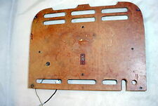 Vintage Tube Radio Original Back Cover, Loop Antenna 318-1563