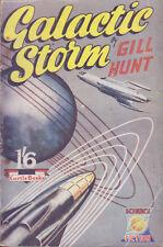 C1 John BRUNNER Gill HUNT Galactic Storm 1952 FIRST PUBLICATION First Printing